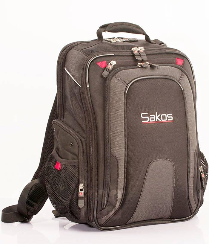 Balo thương hiệu Sakos.
