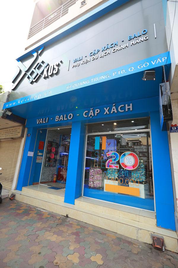 Showroom KOS Shop 89 Quang Trung P10 Gò Vấp