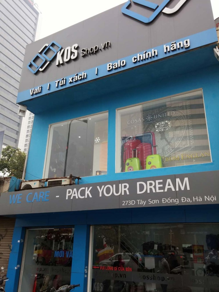 Showroom 273D Tây Sơn Đống Đa Hà Nội (ngã tư Sở, đối diện Thái Thịnh)