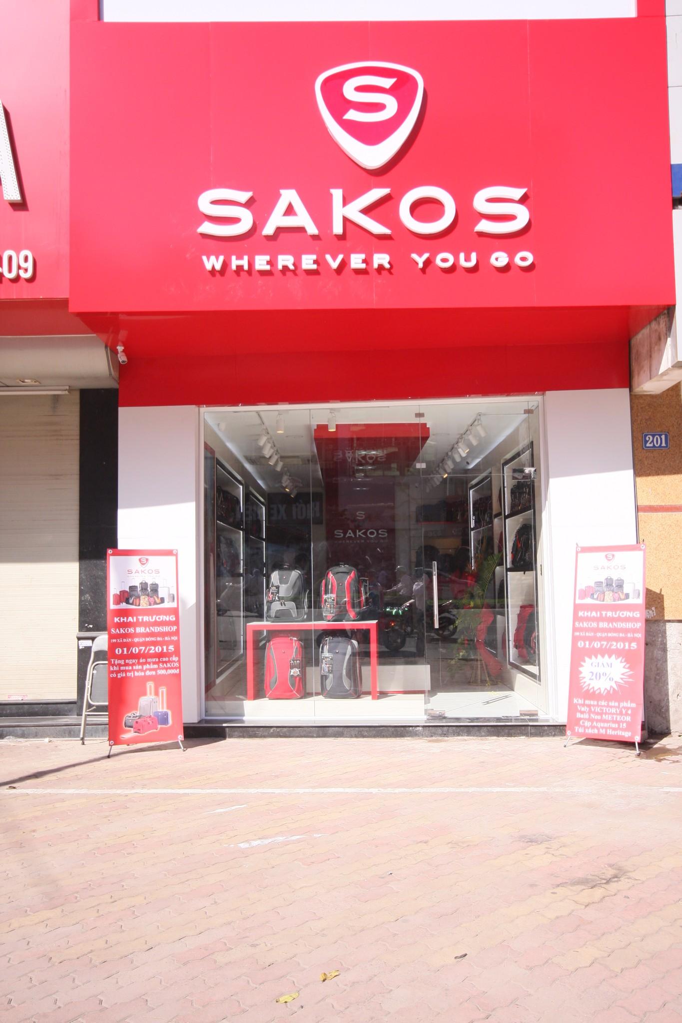 Địa chỉ mua balo Sakos ở Hà Nội