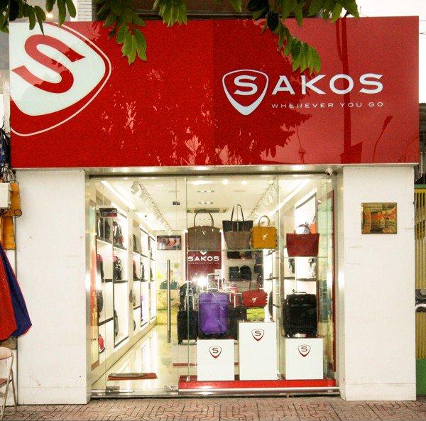 Cửa hàng Sakos ở TPHCM Hà Nội chính hãng