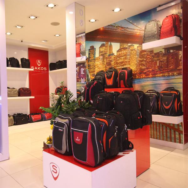 Đại lý balo Sakos ở TPHCM tạo điều kiện mua sắm dễ dàng