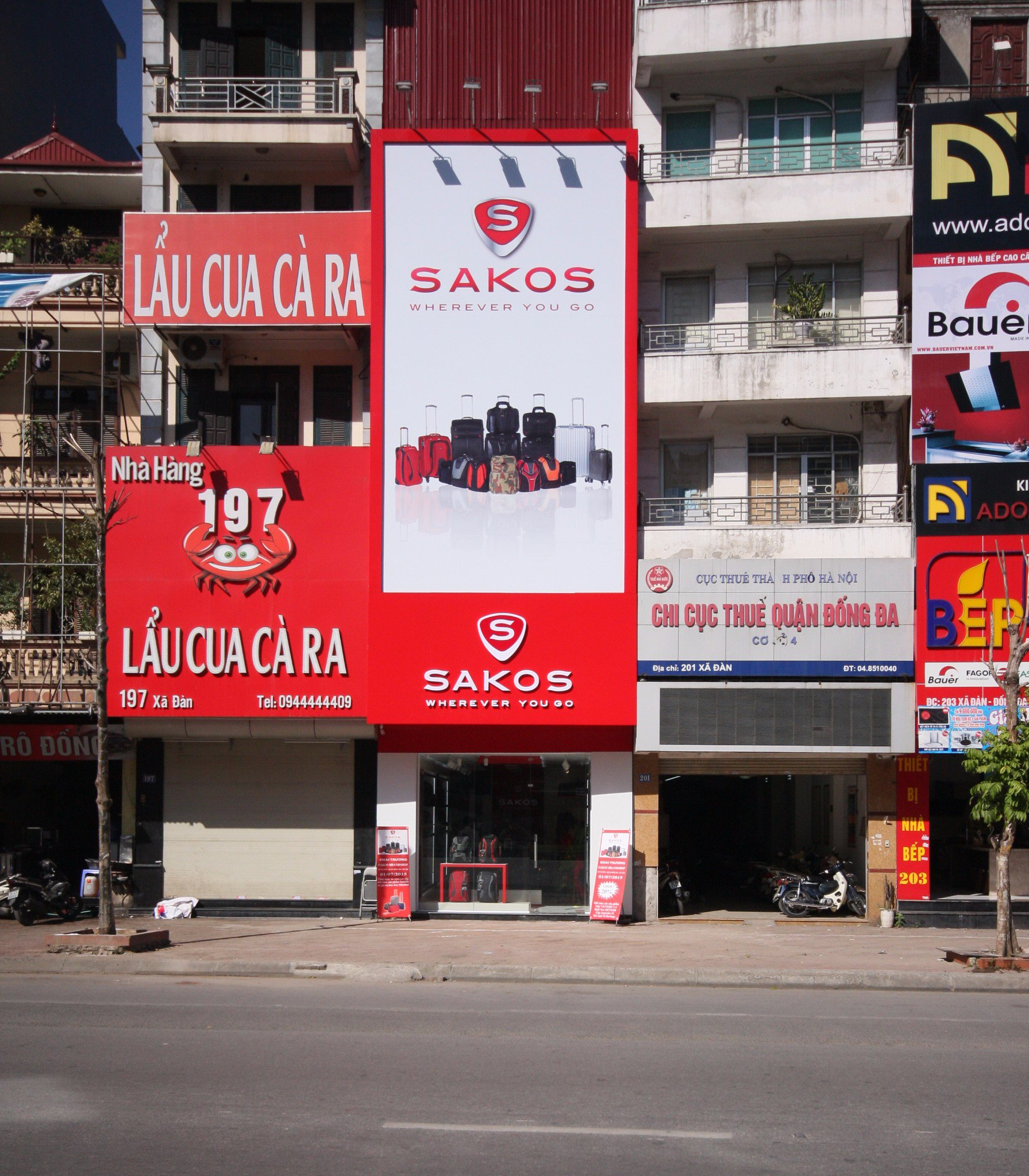 Mua balo Sakos ở Hà Nội